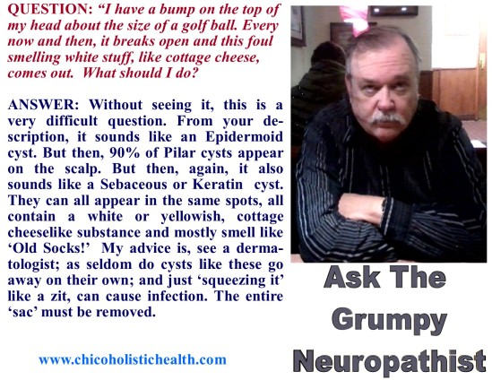 Ask the Neuropathist 12