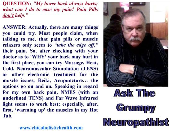Ask the Neuropathist 15