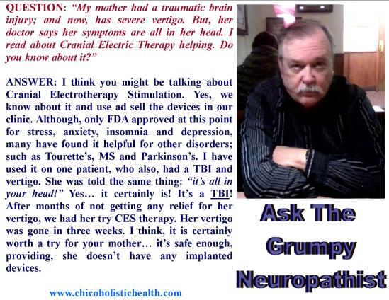 Ask the Neuropathist 16