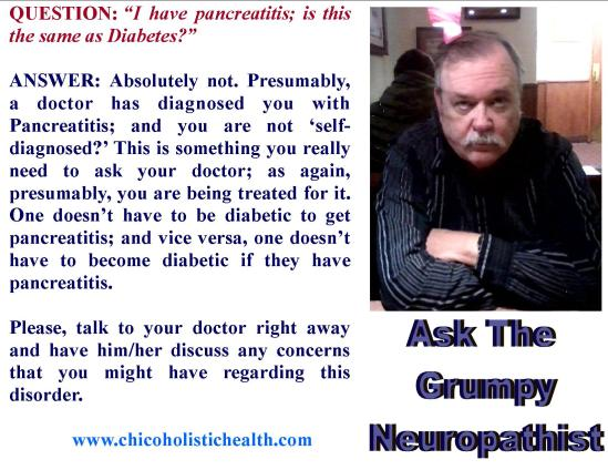Ask the Neuropathist 20