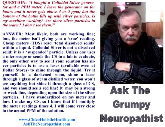 Ask the Neuropathist 26